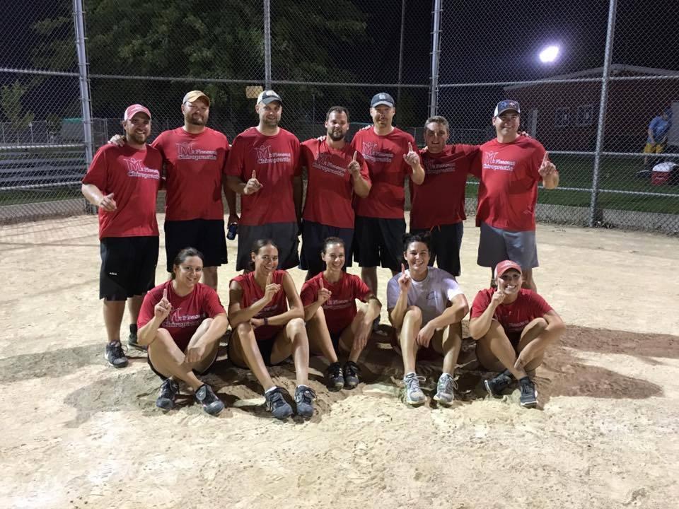 2016-coed-adult-softball-champions-mt-pleasant-ciropratic-team
